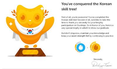 Sertifikat Duolingo