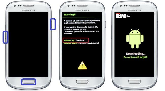 Cara Pasang CWM dan Rooting Samsung S3 Mini GT-I8910 Via Odin Terbaru