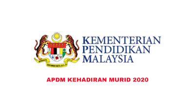 APDM Kehadiran 2020 (Aplikasi Pangkalan Data Murid)