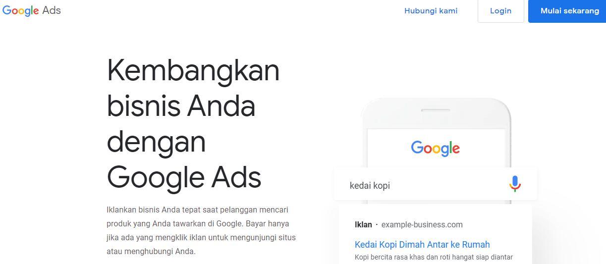 keuntungan beriklan menggunakan google ads