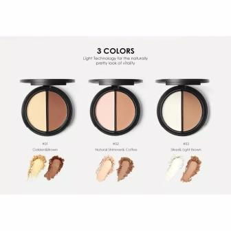 focallure highlight and contour shades