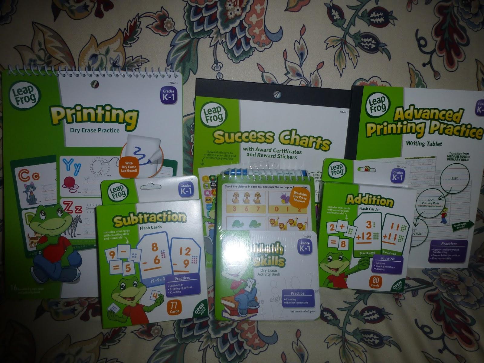 Leapfrog S Complete Kindergarten Learning Kit