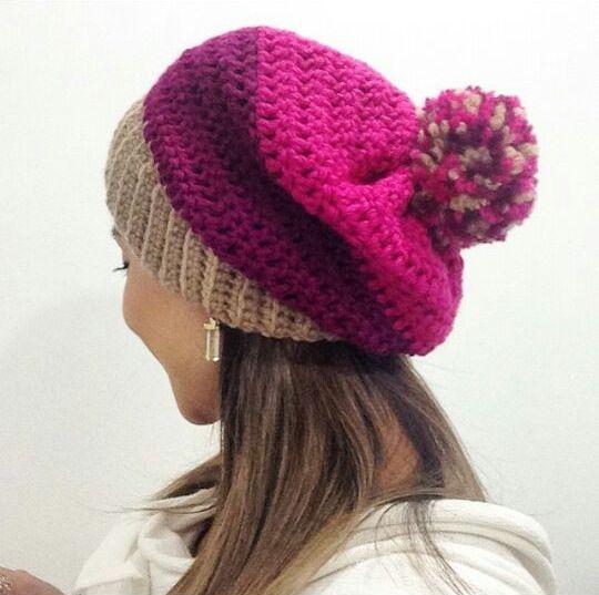 andrea croche handmade  gorro de croche 429ee27e58e