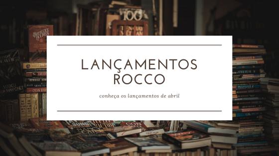 lançamentos editora rocco