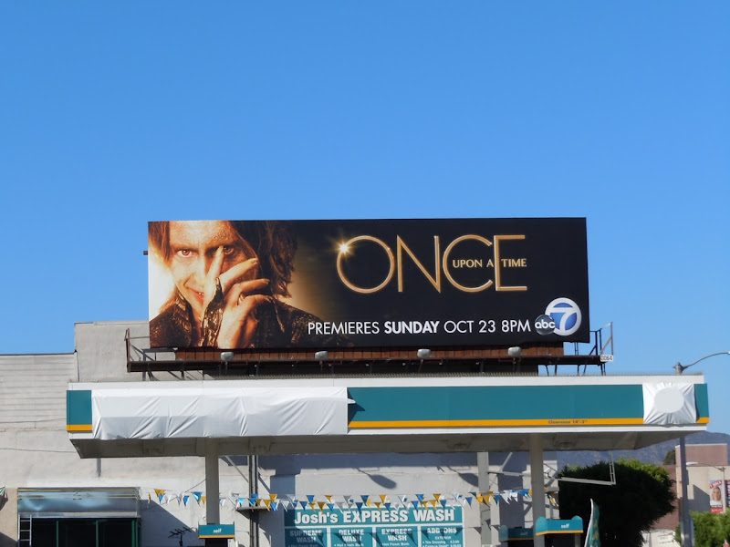 Once Upon a Time billboard