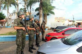 Exército iniciou  treinamento em Guarabira nestas quarta e quinta oferece serviços de saúde à população
