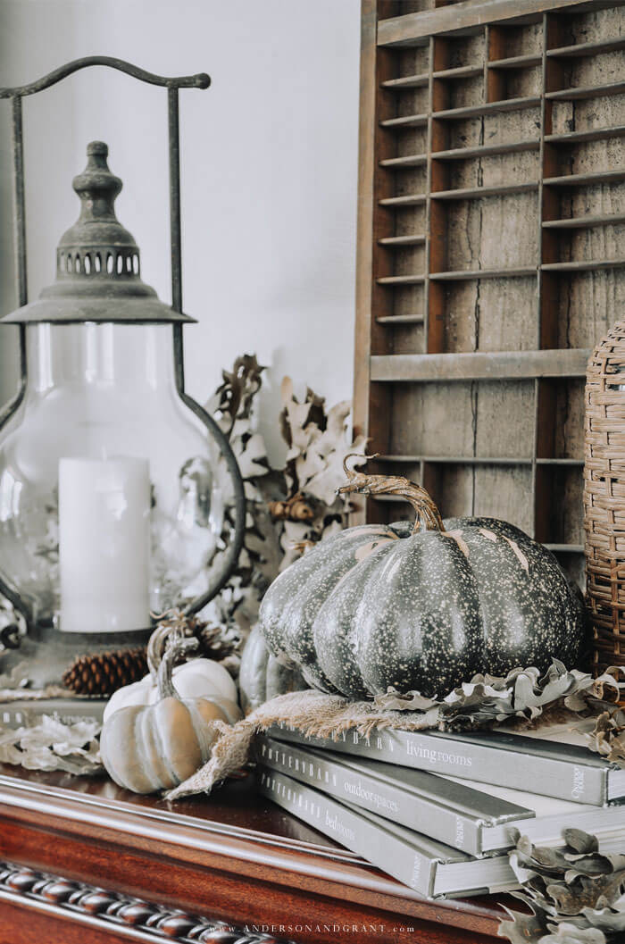 Need inspiration for a simple, neutral fall decorating? This post outlines 9 ways you can get a warm cozy vibe.