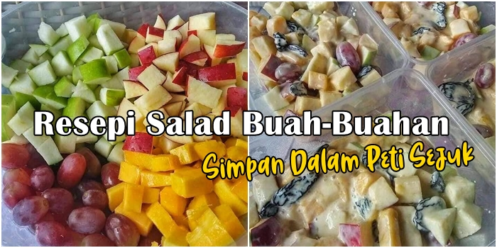 Resepi Salad Buah-Buahan