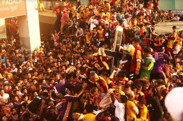 Hundreds of thousand celebrate the feast of the Black Nazarene