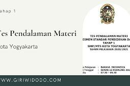 Soal TPM ASPD SMP Kota Yogyakarta 2021 Tahap 1