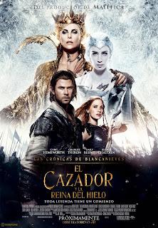 [PELÍCULAS] El Cazador y La Reina del Hielo.