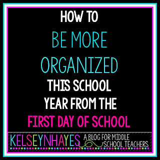 how to be more organized this school year from the 1st day of school a blog for teachers. Black Bedroom Furniture Sets. Home Design Ideas