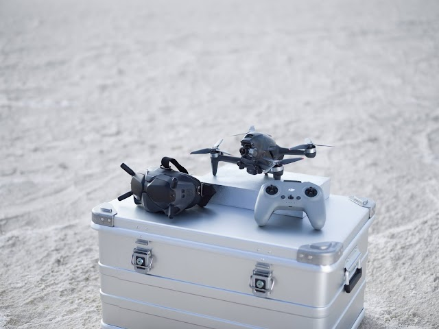 DJI FPV drone combo an intuitive aerial device
