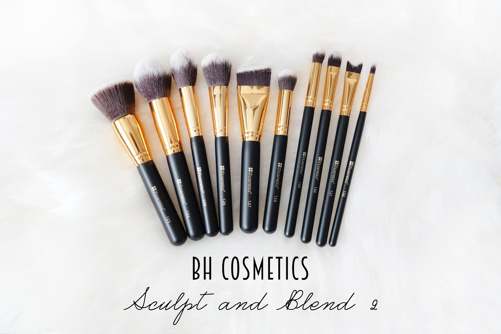 Cosmetics Sculpt Blend Piece Brush Set