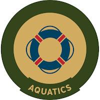 Aquatics trail badge
