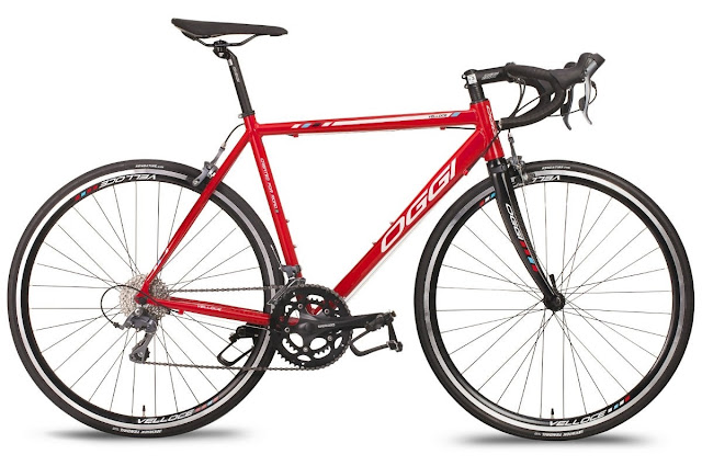 Bicicleta Oggi Veloce 16V 2017 - Vermelho