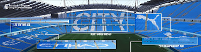 PES 2020 Stadium City of Manchester / Etihad Stadium