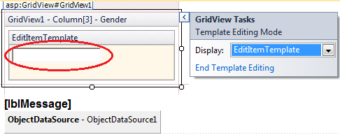 Editing edititemtemplate in gridview