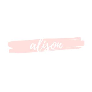 alison signature