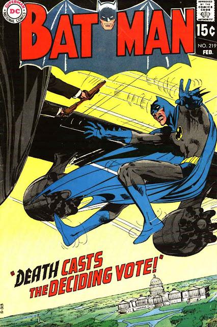 Batman v1 #219 dc comic book cover art by Neal Adams