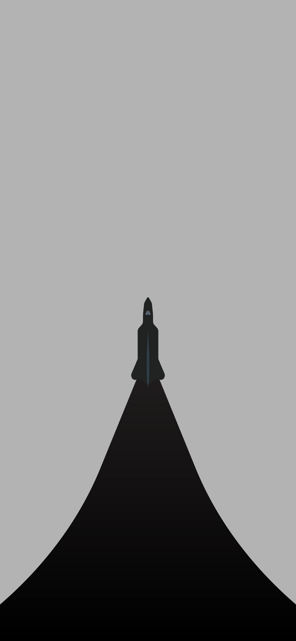 rocket minimalistic