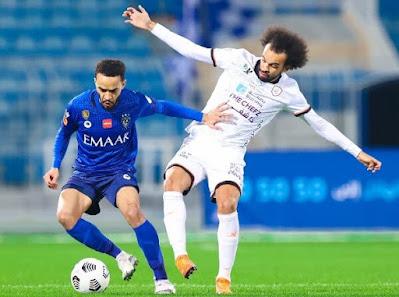 ملخص واهداف مباراة الهلال والشباب (1-1) الدوري السعودي