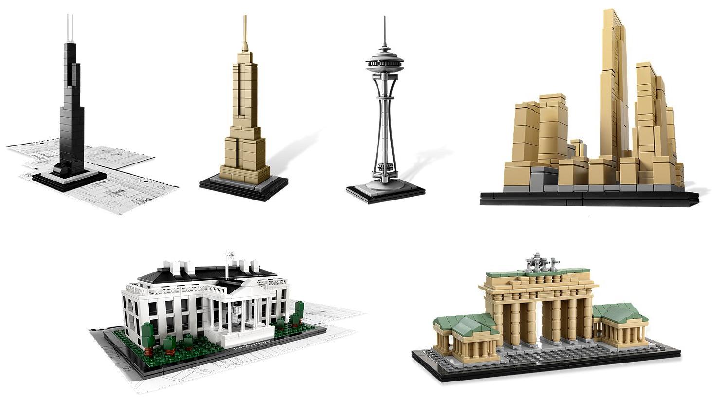 lego architecture landmark series architect
