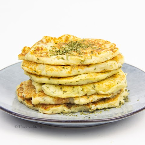 Potato Mash Pancakes