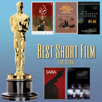 Photo: the nominees for Best Live Action Short Film at the 92nd Academy Awards 2020