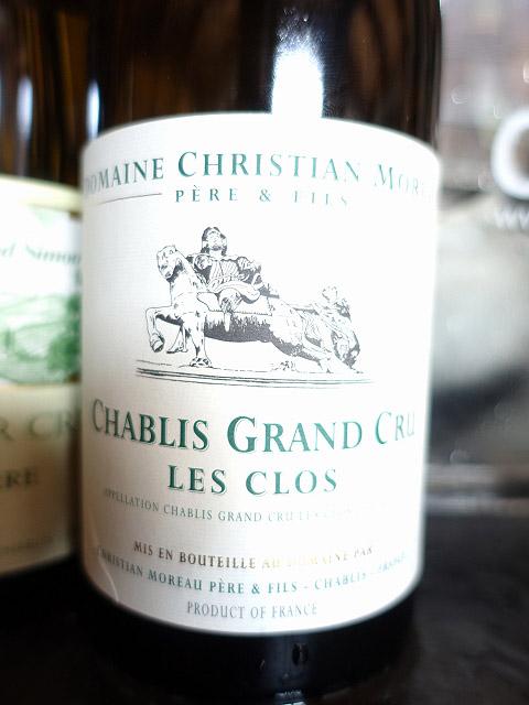 Domaine Christian Moreau Pere & Fils Chablis Grand Cru Les Clos 2015 (92 pts)