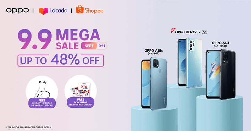 OPPO's 9.9 Mega Sale deals