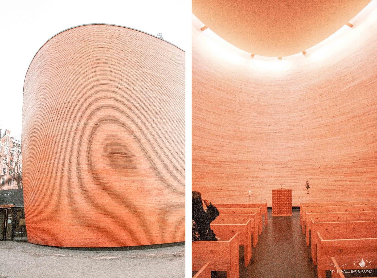 My Travel Background : 2 jours pour découvrir Helsinki, la capitale de la Finlande - Chapelle Kamppi