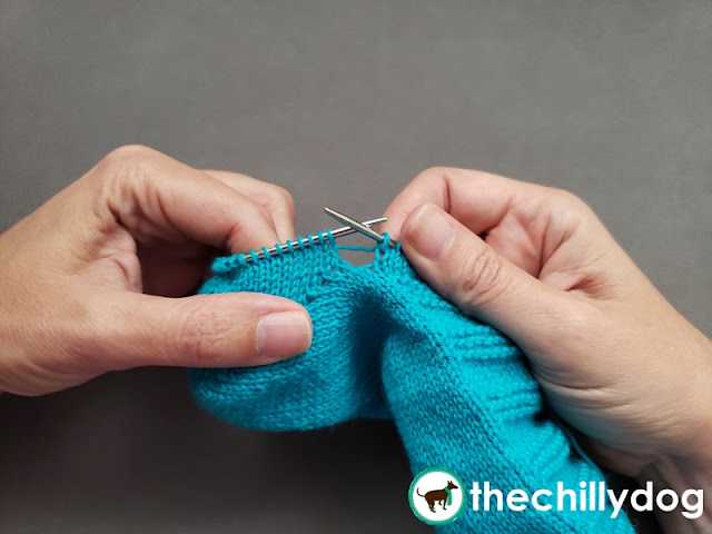 Sock Knitting Tutorial: How to prevent holes when transitioning from rows to rounds after the heel shaping