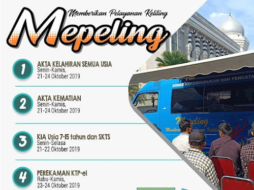 Layanan Mepeling 21 - 24 Oktober 2019