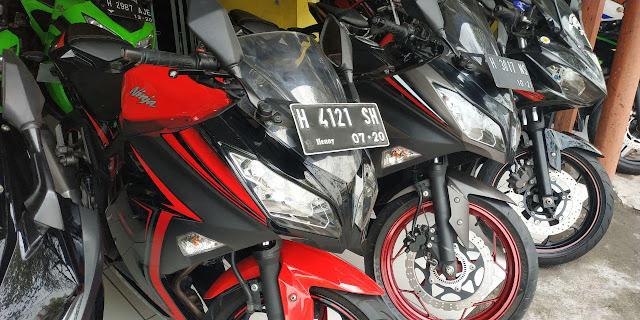 daftar harga motor bekas kawasaki ninja 250 fi di semarang
