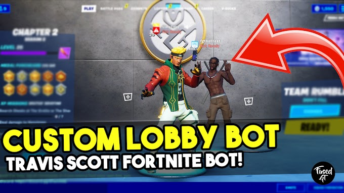 How to MAKE a LOBBY BOT in Fortnite Chapter 2 - Travis Scott Lobby Bot Tutorial
