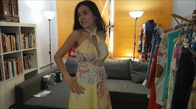 """""""Vestido Amarillo para el Verano"""""""