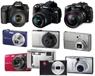 Daftar Harga Berbagai Jenis Kamera Baru