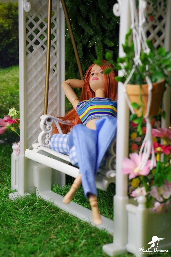 jardin de barbie