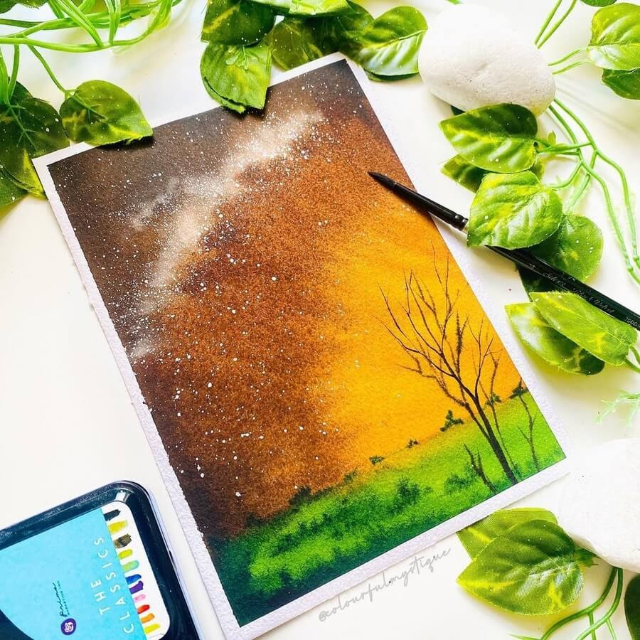 08-Nightime-sky-and-stars-Geethu-www-designstack-co