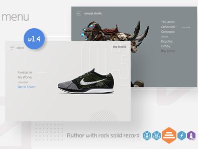 Download Navi: Fullscreen WordPress Menu Free