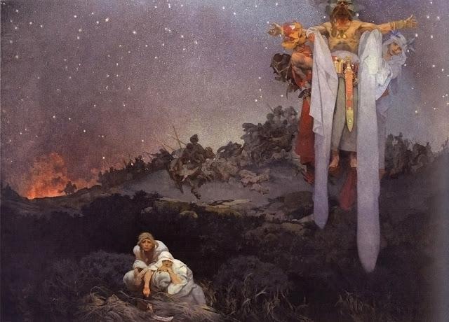 Альфонс Муха - Славянский эпос. Славяне на своей Земле. 1912