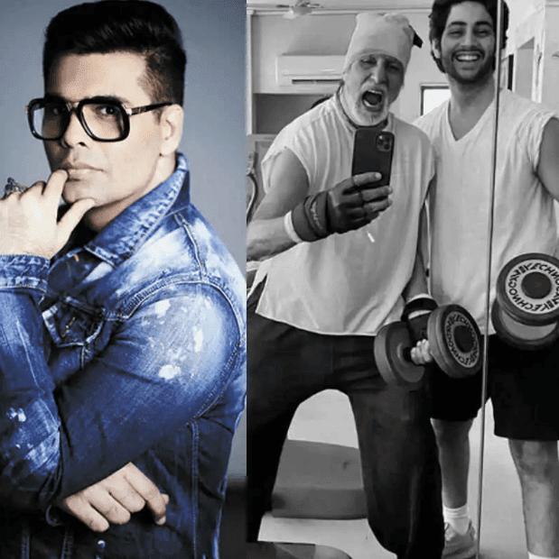 Amitabh Bachchan के पोते अगस्त्या नंदा को बॉलीवुड में लॉन्च करेंगे करण जौहर ?