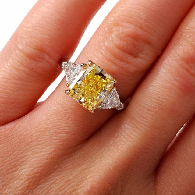 All You Need To Know About Yellow Diamond Rings