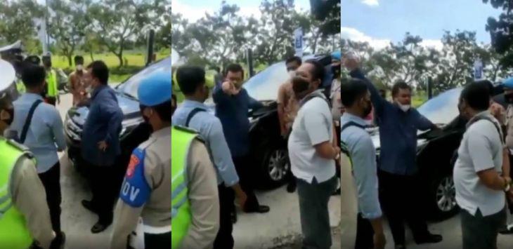Begini Pengakuan Kader PAN Sekaligus Anggota DPRD NTB Najamudin soal Video Viral di Penyekatan PPKM Darurat