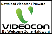 Videocon Z30 Flash File