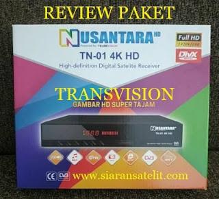Review Receiver Transvision Nusantara HD Tanaka TN-01