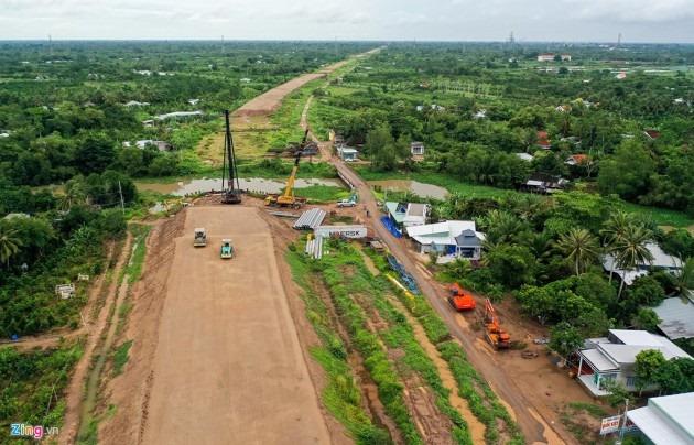 Cao tốc Trung Lương – Mỹ Thuận sau 10 năm khởi công 1