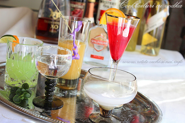 5 cocktailuri cu vodka