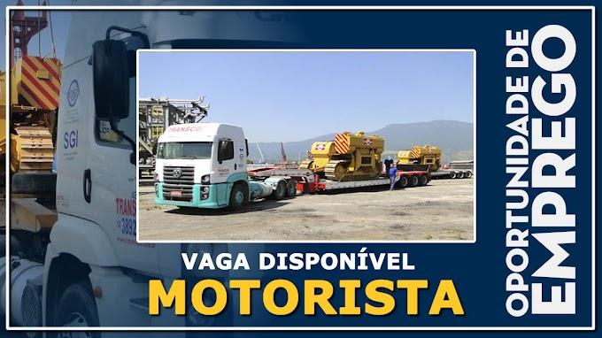 Trans Copa abre vagas para Motorista Carreteiro